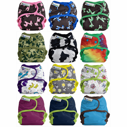 Best Bottom Diaper Shell with Snap Closure