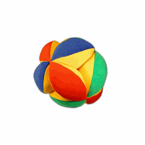 Big Soft Ball w/ Ringing Bell in Bright Colors
