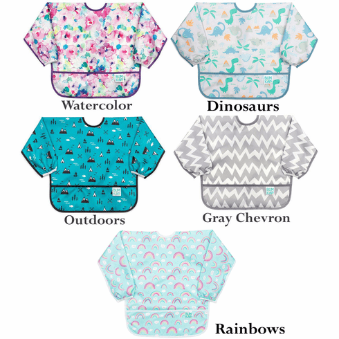 Bumkins Waterproof Long Sleeve Bib Art Smock, 6-24 Months