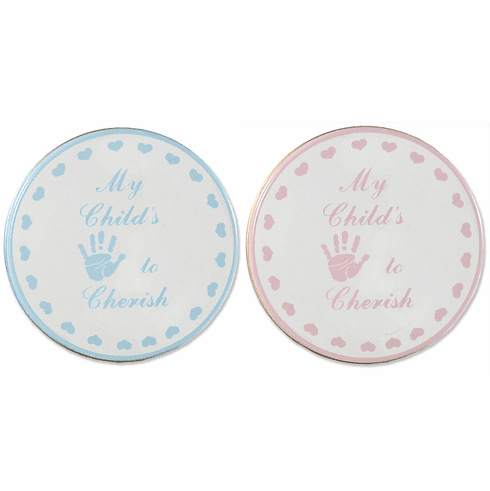 Child to Cherish Child Handprint Tin Plaster Hand Print Kit