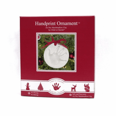 Child to Cherish Marshmallow Clay Handprint Christmas Ornament Kit