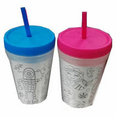 Cool Gear BPA Free Coloring Book Chiller 14oz