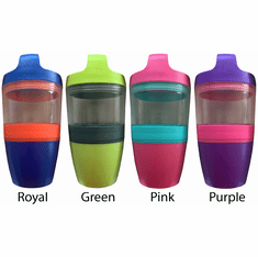 Cool Gear Insulated Cereal To Go w/ 5oz Freezer Gel Milk Cup