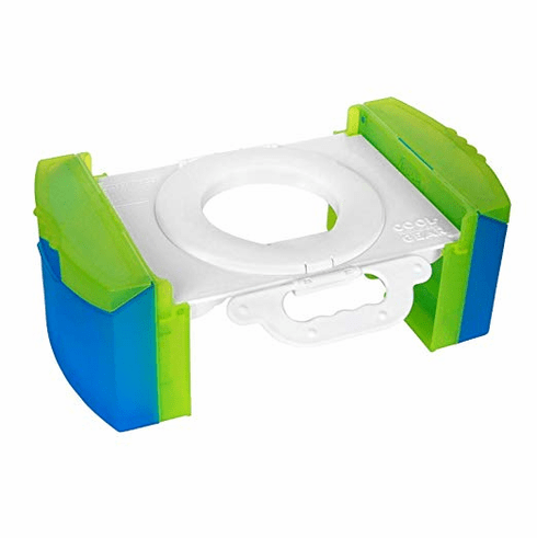 Cool Gear Travel Potty Training Toilet Seat w/Carry Handle