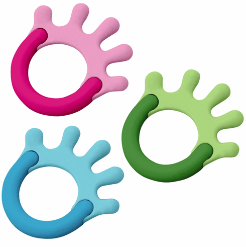 Cornstarch Hand Teether by Green Sprouts