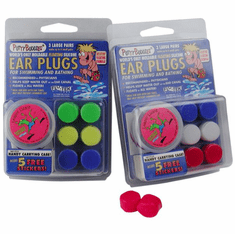 Ear Band-It Floatable Soft Silicone Putty Buddies Ear Plugs