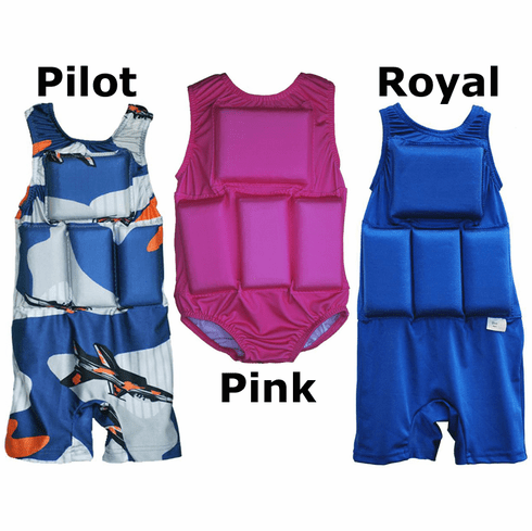 Girl's or Boy's My Pool Pal Flotation Swimsuit