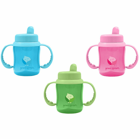 Green Sprouts BPA Free Flip Top Hard Spout 6oz Sippy Cup