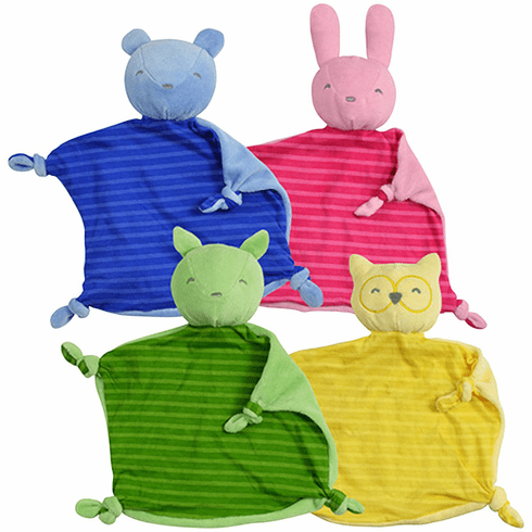 Green Sprouts by I Play Organic Blankie Animal