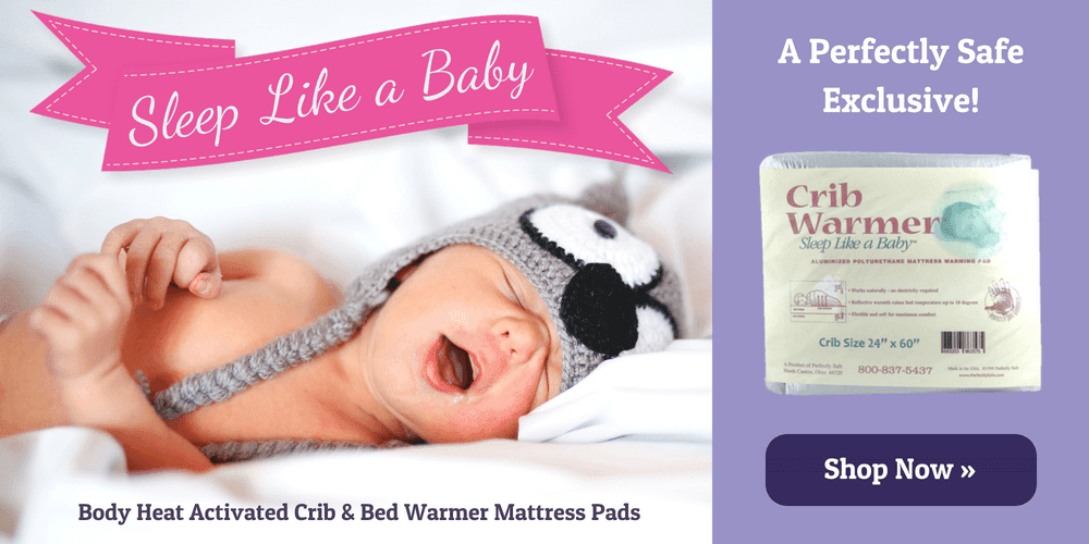Body Heat Activated Crib & Bed Warmer Mattress Pads