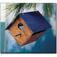 Kids Make Your Own Bird House Wood Craft Project Kit