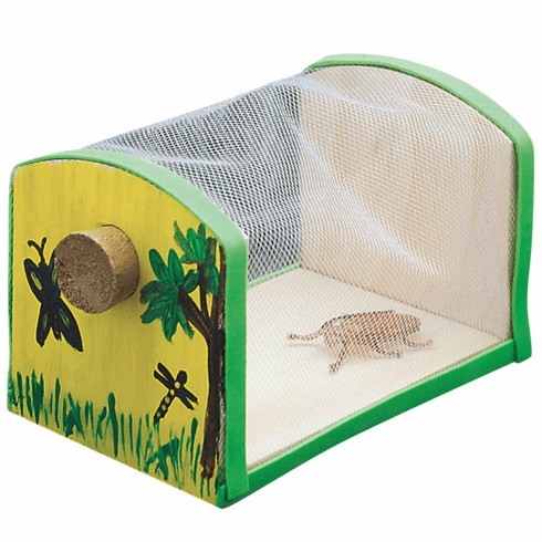 Kids Make Your Own Insect House / Bug Cage Wood Craft Project Kit