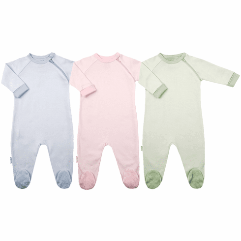 Kushies 100% Cotton Side Zipper Tagless Baby Sleeper