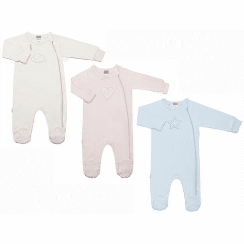 Kushies Baby Classic Cotton Side Zip Sleeper