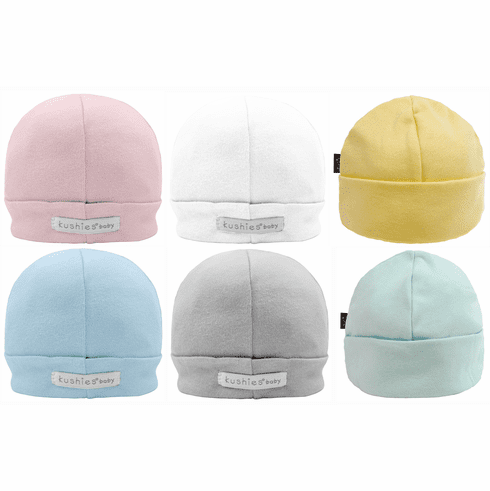 Kushies Cotton Jersey Baby Cap Hat