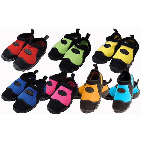 Kushies Infant, Toddler & Kid's Pool & Beach Water Swim Shoes