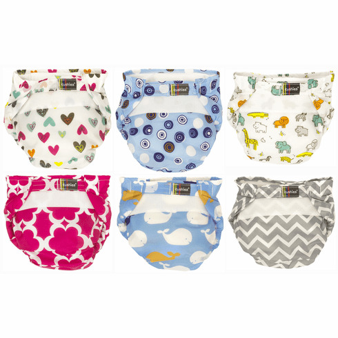 Kushies Ultra-Lite All-In-One Form-Fitted Washable Cloth Diapers