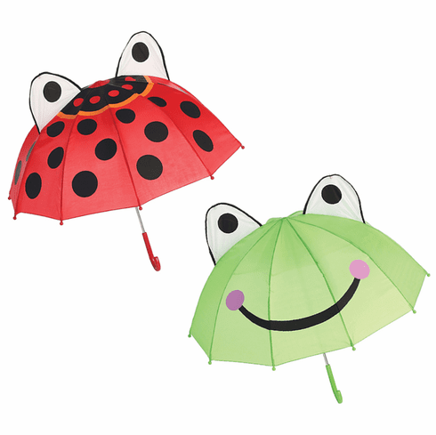 "Lady Bug Child's Kid Size 26"" Umbrella"