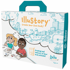 Lulu Jr IlluStory Make Your Own Hardbound Book Kit