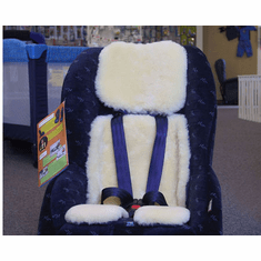 Natural Lambskin Stroller and Car Seat Cover