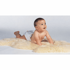 New Zealand Babycare Long Hair Lambskin Rug