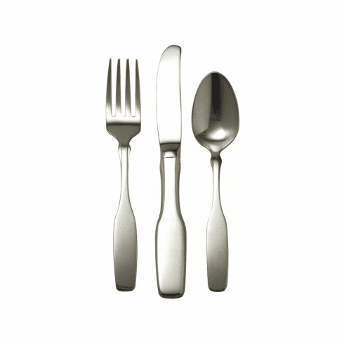 Oneida Paul Revere Child 3-Piece Spoon, Fork & Knife Flatwear Set