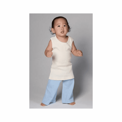 Organic Cotton Baby Rib Karate Pant