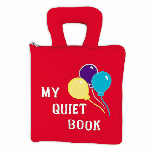 Pockets of Learning My Quiet Fabric Soft Cloth Interactive Activity Book
