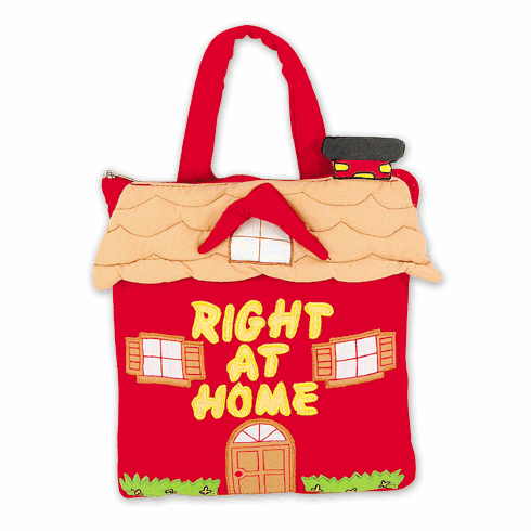 Pockets of Learning Right at Home Fabric Soft Cloth Interactive Activity Book