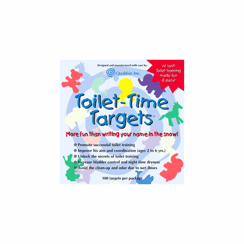 Potty Training Toilet Time Targets for Boys