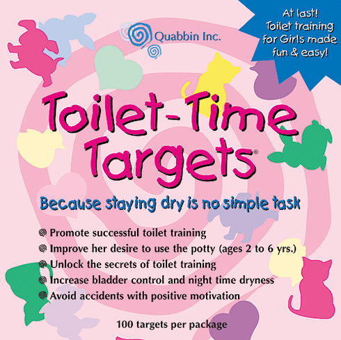 Potty Training Toilet Time Targets for Girls
