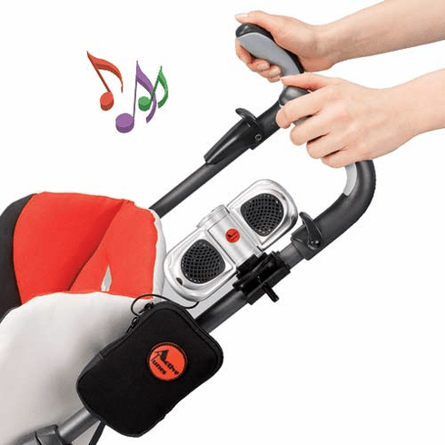 Stroll-a-Tune Stroller Speakers for iPOD™, MP3, Satellite or AM/FM Radio