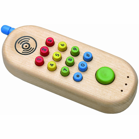 The Original Toy Company My First Wood Cell Phone