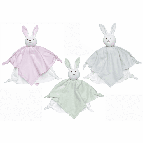 Under the Nile 100% Egyptian Organic Cotton Lovey Bunny Blanket Friend