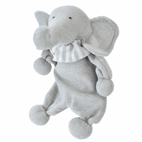 Under the Nile 100% Egyptian Organic Cotton Lovey Elephant Stuffed Animal