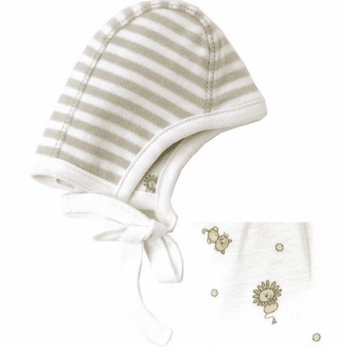 Under the Nile 100% Organic Egyptian Cotton Reversible Pilot Hat