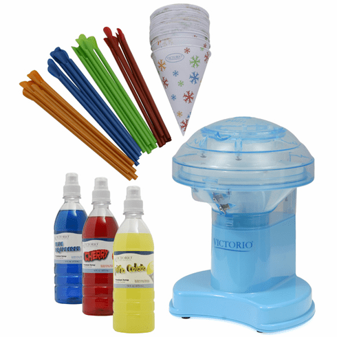 Victorio Electric Ice Shaver Snow Cone Maker Gift Pack