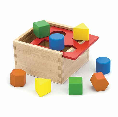 Wooden Shape Sorter Sorting Box Toy