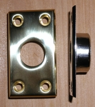 No. 40 Pole Hook Socket Solid Brass