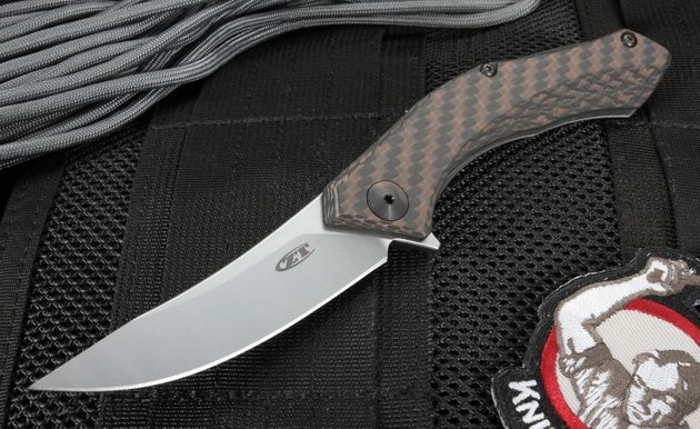 Zero Tolerance 0460 Sinkevich Design Flipper S35VN Steel