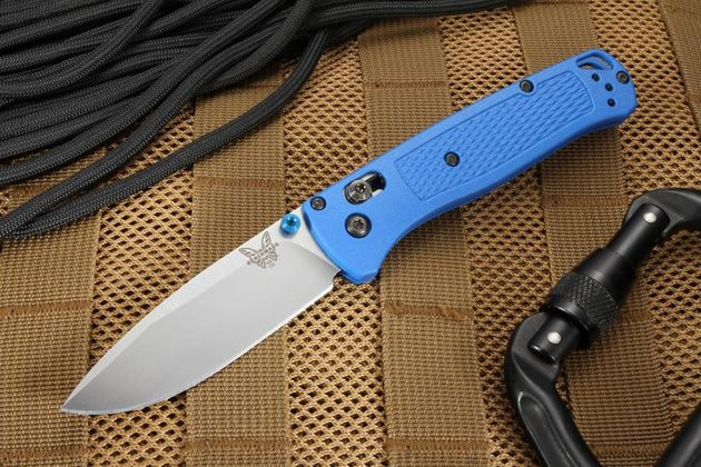 Benchmade Bugout Blue - Model 535 Folding Knife