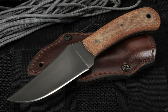 Winkler Knives Blue Ridge Hunter - Tan Micarta and Caswell