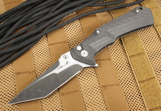 Brian Tighe -Tighe Tac XL - Carbon Fiber Folder