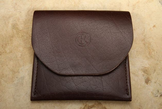 The Reeve Leather Wallet by Gfeller Casemakers