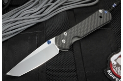 Chris Reeve Large Sebenza 21 Carbon Fiber - Exclusive - Tanto Blade