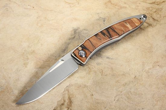 Chris Reeve Mnandi Spalted Beech Folding Knife #1