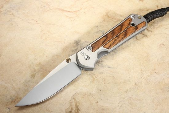 Chris Reeve Small Sebenza 21 Bocote Folding Knife #6