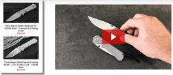 Chris Reeve Small Sebenza 21 vs Inkosi Knife Models - Overview