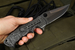Exclusive Crawford Midnight Kasper - Marble Carbon Fiber and Black DLC Flipper