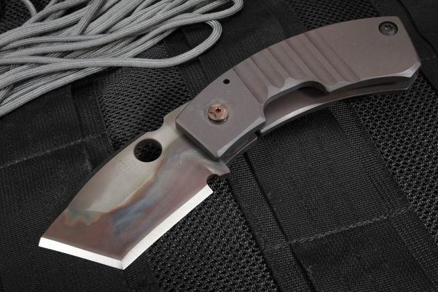 Crusader Forge Apex Armor Plate GR38 Phantom Tanto Folder